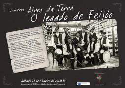 cartel Aires da Terra calidade